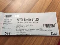 Kevin 'bloody ' Wilson tickets