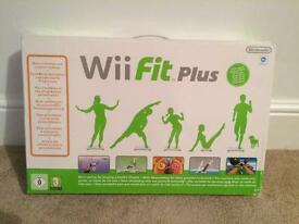 New wifi fit plus game and balance board