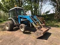 FORD 2120 COMPACT TRACTOR WITH LAND LUGGER LOADER