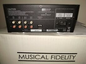 Musical Fidelity M1 Hpap headphone amplifier