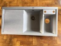 Blanco double kitchen sink (composite)