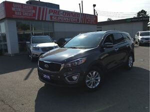 2016 Kia Sorento 2.4L LX, AWD, HEATED SEATS, FACTORY WARR UNTIL