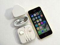 Apple iPhone 5c 16GB, Yellow, Unlocked, NO OFFERS