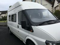 Ford Transit 90 T350 High Roof 8 Seater Recreational Crew Van, ONLY 86K Milage