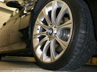 "18"" BMW Alloys M5 Style x 4 in Hyper Silver will fit E90, E91, E92 plus many other models"