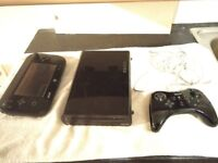 Nintendo Wii U Games Console with various extras