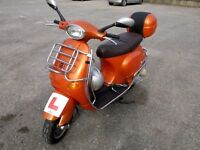 Classic vespa piaggio . Excellent condition . A lovely bike that stands out from the crowd .