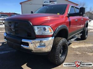 2011 Ram 3500 LARAMIE LOADED with BDS LIFT!!