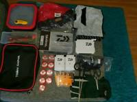 Job lot Daiwa terminal tackle and accessories all new and a 1 off