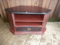 Corner TV Stand Unit Delivery Available