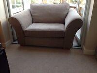 Next - Snuggle chair (colour- tweedy dove) 145cm W x 100 D X 90cm H