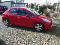 Peugeot 207 M-play 1.4 11 months Mot great condition 5 door, iso Fix