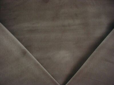13y JB MARTIN BEAUTIFUL TOULOUSE DEEP GREY VELVET UPHOLSTERY FABRIC