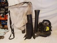 Leaf blower collector - spares or repairs
