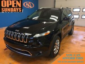 2017 Jeep Cherokee Limited! FINANCE NOW!