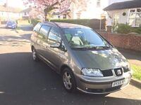2006 Seat Alhambra Reference 1.9 TDI PD 6 Speed Manual (1 year M.O.T) NOT SHARON, GOLF