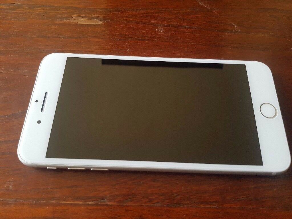 Apple iPhone 7 Plus 128GB Silver Unlocked to any Network in Good Condition