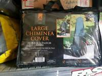 New large chiminea covers
