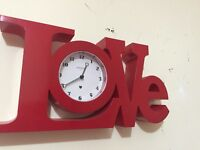 Love word clock
