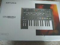 Arturia Minibrute 2 - Boxed - Excellent Condition