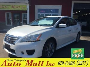 2014 Nissan Sentra SR/Sunroof/Nav/Alloys