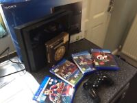 SONY PS4 with 5 Games - PES 2015/17/18, Grand Turismo Sport 2017 & Unchartered 4