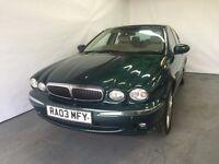 Jaguar X-Type 2.1 Petrol V6 S 2003 (03) Green 4 door Saloon £999