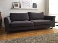 Grey 3 seater sofa from Habitat