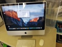 Apple iMac 24inch 4gb ram 720GB Hard drive 2009 in excellent condition and good working order.