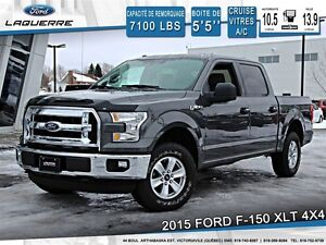 2015 Ford F-150 **XLT*6 PASSAGERS*CRUISE*A/C**