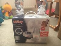 Nuby Natural Touch Breast Pump