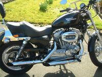 2009 HARLEY DAVIDSON SPORTSTER 883 XLH 5488 MILES SCREAMING EAGLE VERY GOOD NIC SPARES INCLUDED