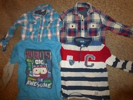 Boys Long sleeve tops & shirts Age 4-5 years