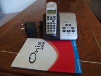 Philips Onis 200 VOX Digital CordlessTelephone with Answer Machine