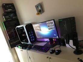 ***Gaming/Streaming/Editing full System***