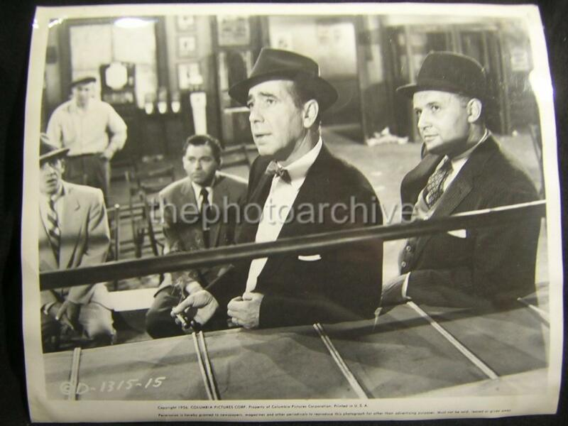 HUMPHREY BOGART THE HARDER THEY FALL 1956 VINTAGE PHOTO 123L