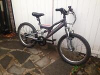 "Raleigh 20"" Wheel Mountain Bike"