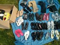 size 7 assorted womens shoes