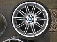 BMW MV4 alloy wheels 225m M Sport Staggered - Set of 4