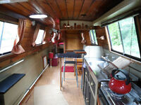 52ft Narrowboat with residential mooring, Oxford