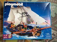 PLAYMOBIL pirate ship 5810, corsair 100% boxed