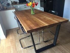 John Lewis Calia 8 Seater Dining Table, Oak
