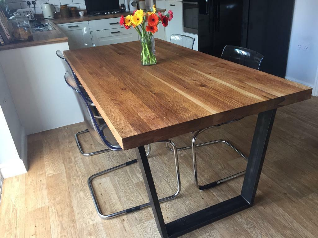 John Lewis Calia 8 Seater Dining Table Oak