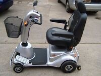 QUINGO PLUS 5 X WHEELS MOBILITY SCOOTER..LITTLE USED GOOD CONDITION MOSTLY GARAGED.COST 4000 POUNDS