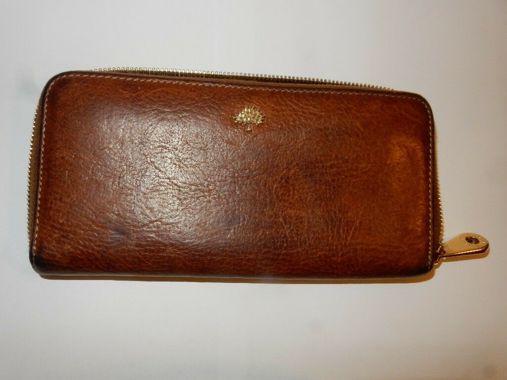 8e92333a53 ... shop mulberry tree continental zip around wallet natural veg tanned oak  2f960 5b15f