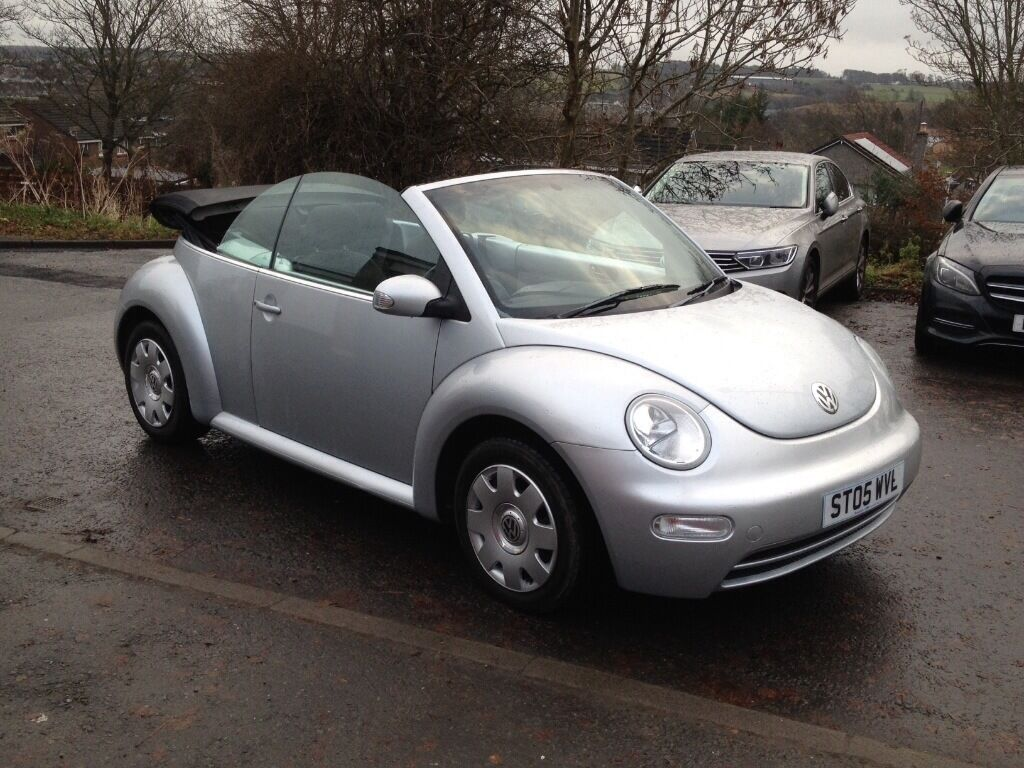 vw beetle tdi convertible full servise history only 63k!