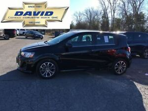 2017 Chevrolet Sonic LT TRUE NORTH/ REAR CAM/ SUNROOF/ REMOTE ST