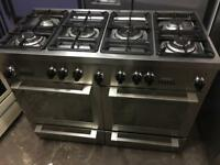 De Dietrich range gas cooker and electric oven 120cm