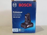 BOSCH 10.8v/12v 4AH BATTERY SEALED IN BOX