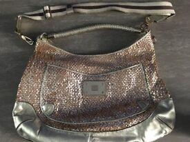 Anya Hindmarch - Gold Handbag (1 of 2)
